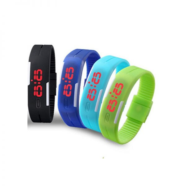 LED Silicon Watch